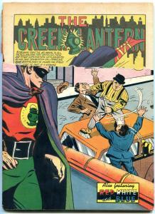 ALL-AMERICAN #28 1941-GREEN LANTERN-ATOM-DR MID-NITE- RARE FR/G