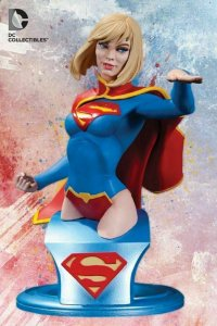 DC Collectibles Supergirl Bust - DC Comics Super-Heroes - Jim Lee - Mint in Box