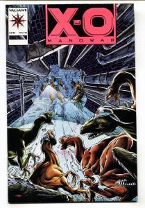 X-O MANOWAR #15-VALIANT-HOT PINK LOGO VARIANT COVER
