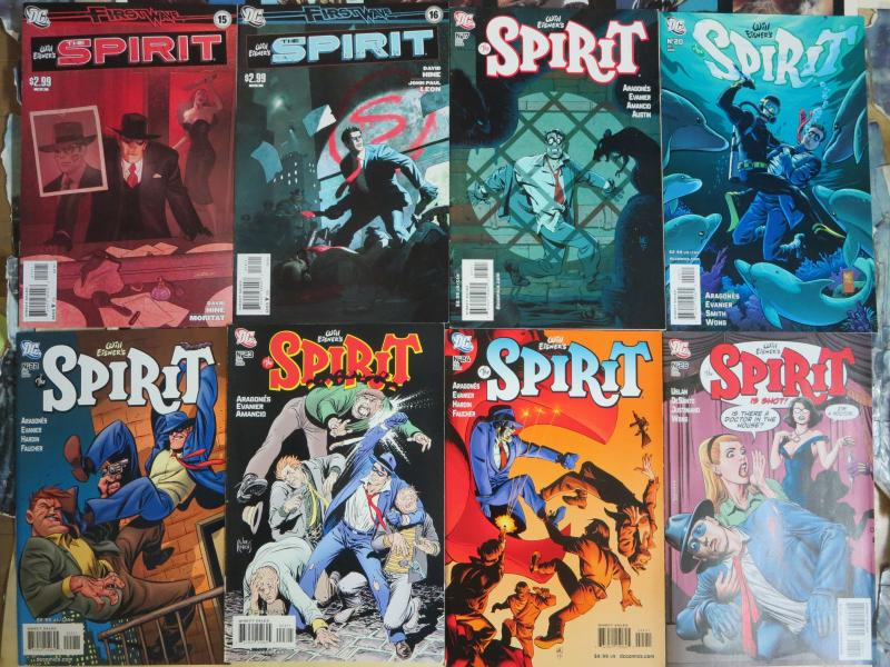 The Spirit (DC 2010) #2-31 Lot of 19Diff Will Eisner's Pulp Detective in Trouble