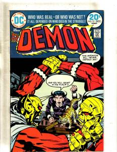 Lot Of 6 Demon DC Comic Books # 11 12 13 14 15 16 Jack Kirby Art 4th World FM1