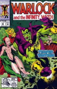 Warlock and the Infinity Watch #12 VF/NM; Marvel | save on shipping - details in