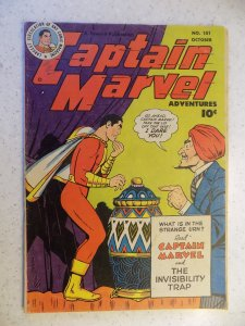 CAPTAIN MARVEL # 101 FAWCETT GOLDEN AGE WHIZ SHAZAM