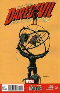 Daredevil (3rd Series) #24 VF; Marvel | save on shipping - details inside