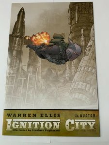 Ignition City #5 Warren Ellis Signed Poster Edition W/COA NM.