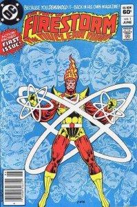 Fury of Firestorm (1982 series) #1, VF (Stock photo)