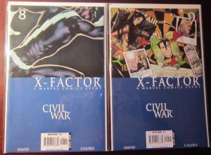 Wolverine (2006 2nd Series), SET:#42-47, AVG VF+/8.5