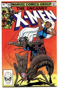 X-MEN #165-marvel comic book high grade nm- wolverine