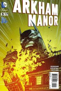 Arkham Manor #5, NM + (Stock photo)