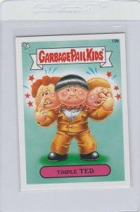 Garbage Pail Kids Triple Ted 19b GPK 2012 Brand New Series 1 trading card sticke