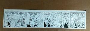 MICKEY FINN by Lank Leonard. Original Comic Strip Art