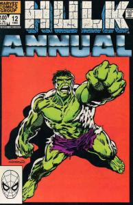 Incredible Hulk, The Annual #12 VF; Marvel | save on shipping - details inside