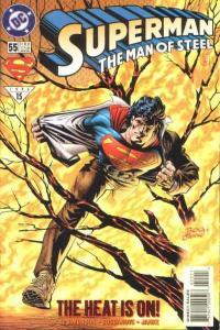 Superman: The Man of Steel #55, NM (Stock photo)