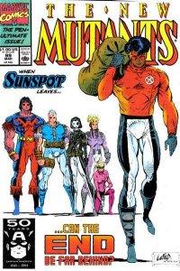 New Mutants (1983 series) #99, NM- (Stock photo)