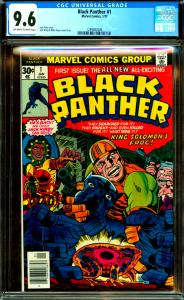 Black Panther #1 CGC Graded 9.6