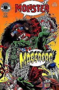 Monster Massacre Special #1 FN; Blackball | save on shipping - details inside