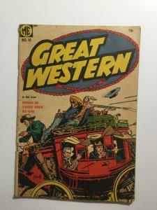 Great Western 10 Very Good Vg 4.0 Magazine Enterprises