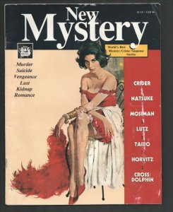 New Mystery #2 1992-Robert McGinnis GGA cover-pulp crime & Fiction Harry Whit...