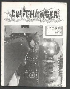 Cliffhanger #13 1990-WOY-Classic zine for fans & collectors of serials-Batman...