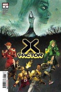 X-Factor (2020 series) #8, NM + (Stock photo)