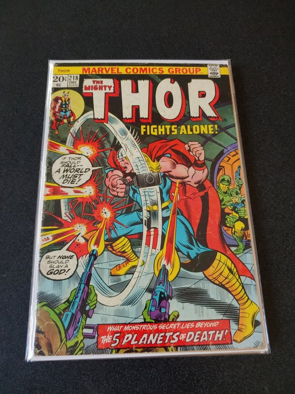 Thor #218 (1973)