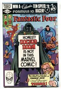 Fantastic Four #238-Doctor Doom-Marvel 1981 NM-