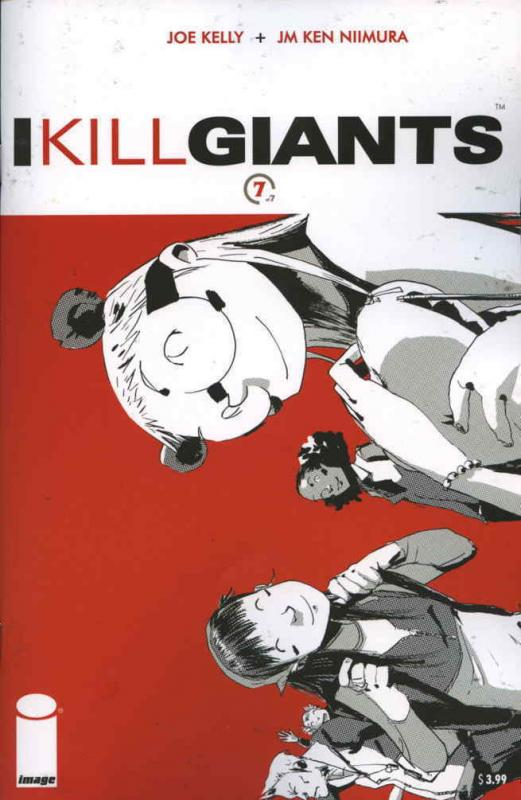 I Kill Giants #7 VF/NM; Image | combined shipping available - details inside