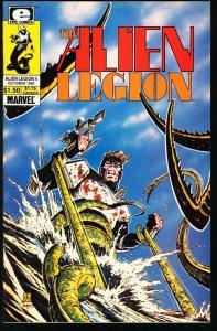 ALIEN LEGION #4-MARVEL/EPIC COMICS-TERRY AUSTIN-1984 NM