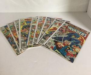 Invaders 11 12 14 16-21 26-29 35 37-39 Annual 1 Vg-Fn Very Good-Fine 4.0-6.0