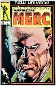 Mark Hazzard Merc #3 (Marvel, 1987) VF
