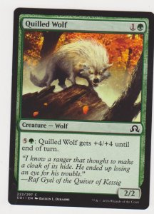 Magic the Gathering: Shadows Over Innistrad - Quilled Wolf