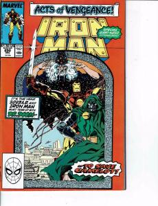 Lot Of 2 Marvel Comics Book IronMan #250 and Iron Man #290 ON1