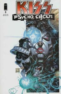 Kiss: Psycho Circus #6 VF; Image | save on shipping - details inside