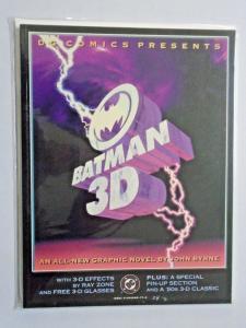 Batman 3D #1 - GN graphic novel - see pics - 8.0 - 1990
