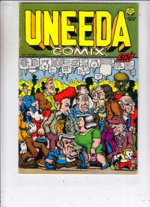 Uneeda Comix #1 (Jan-70) FN/VF Mid-High-Grade Mr. Natural, Flakey Foont, Shum...