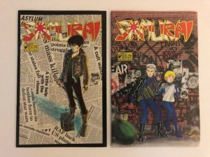 LOT of 2-Aircel SAMURAI #10 & #11 VF/NM  (A85)