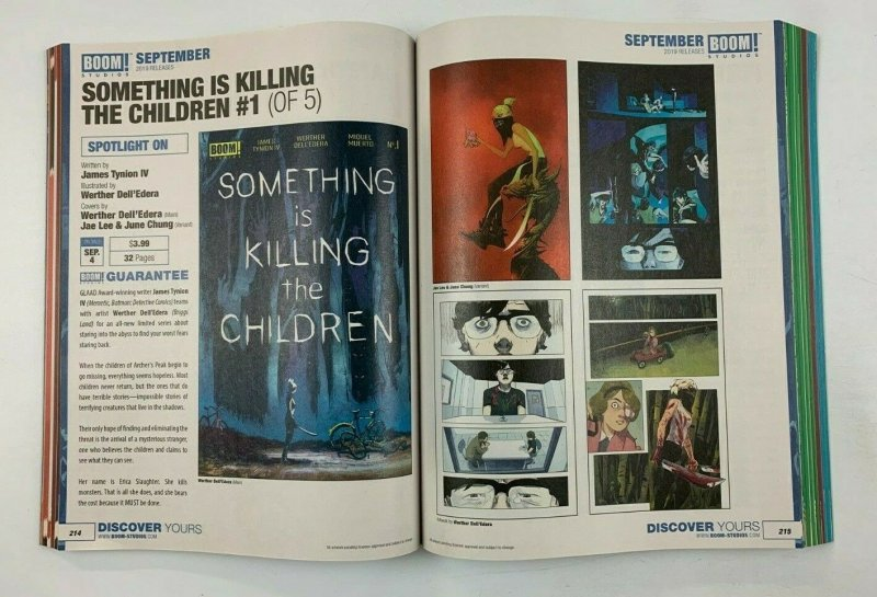 Previews #370 July 2019 - pre-dates Something is Killing the Children #1 tynion