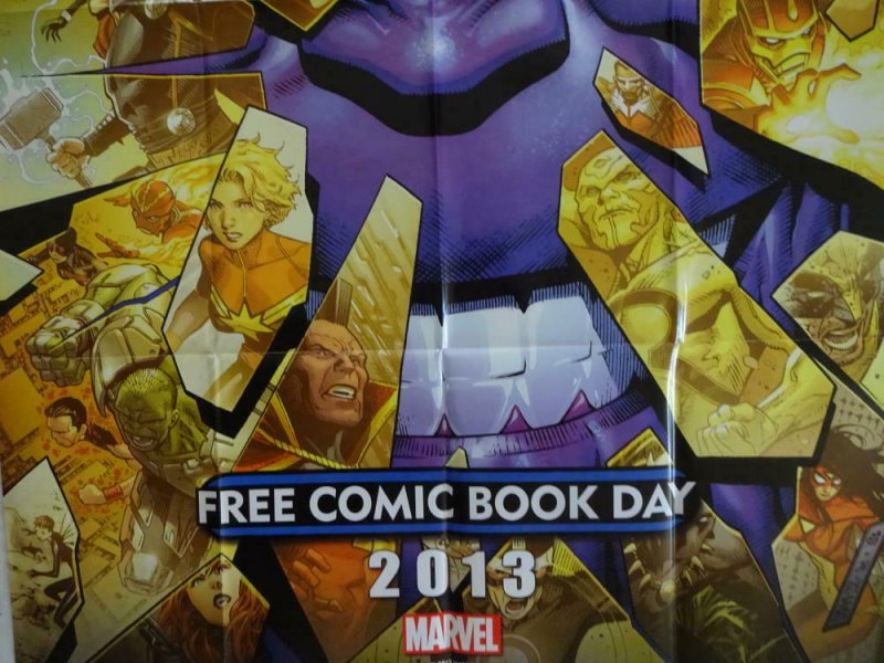 INFINITY Promo Poster, 24 x 36, 2013, MARVEL THANOS Unused more in our store 308