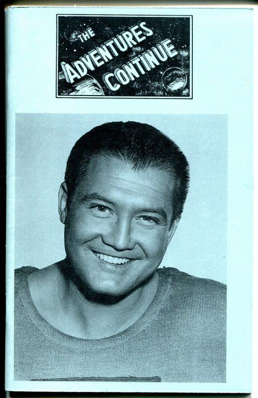The Adventure Continues #3 1989-Superman TV series-George Reeves-VF