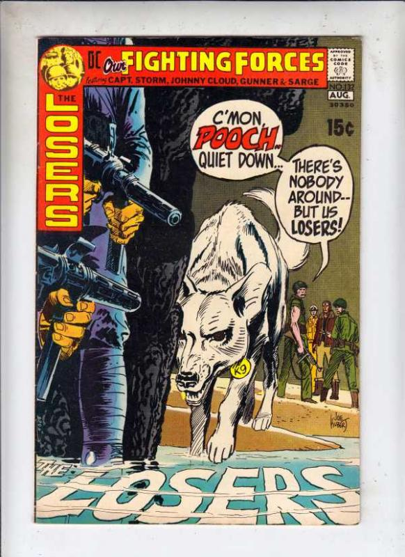 Our Fighting Forces #132 (Jul-71) VF High-Grade The Loosers