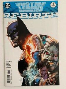 Justice League of America #1 DC Rebirth (DC Comics) NM