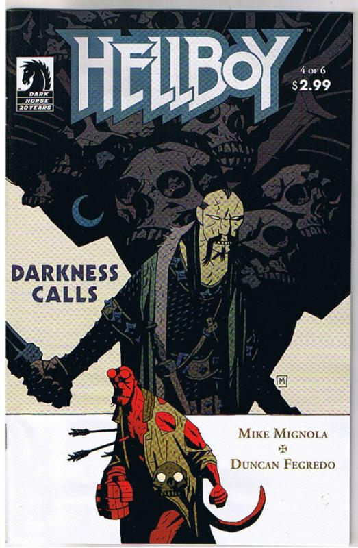 HELLBOY DARKNESS CALLS #4, NM, Mike Mignola, Duncan Fegredo, 2007, more in store