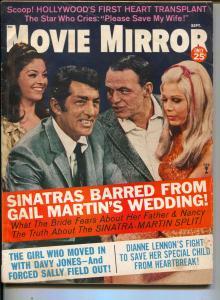 Movie Mirror-Dean Martin-Frank Sinatra-Elvis Presley-Tiny Tim-Sept-1968