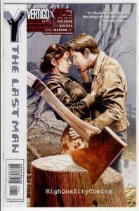 Y the LAST MAN #8, Vertigo, 2003, Vaughan, Guerra, VF