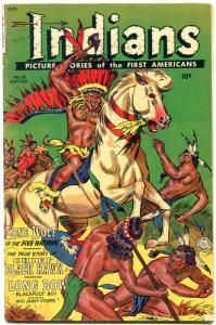Indians Comics #16 1952- Fiction House LONE WOLF-VG