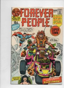 FOREVER PEOPLE #1 2 3 4 5 6 7 8 9 10 11, Jack Kirby, 1971, Darkseid, Signed, HG