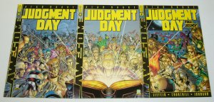 Judgment Day #1-3 VF/NM complete series - alan moore - rob liefeld - alpha omega