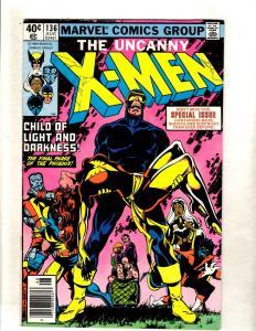 (Uncanny) X-Men # 136 FN- Marvel Comic Book Wolverine Storm Cyclops Beast FM4