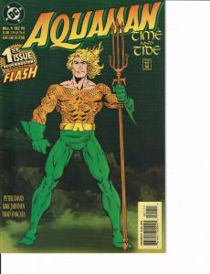 Lot Of 2 DC Comic Books Aquaman #1 and Green Lantern Mosaic #1 ON2