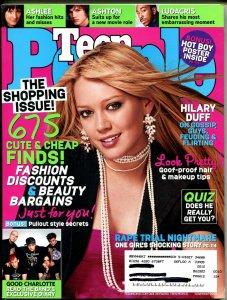 Teen People 11/2004-Hilary Duff-Ashlee Simpson-Ashton Kutcher-FN/VF